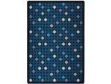 "Joy Carpets Playful Patterns Children's Spot On Area Rug, Seaside, 3'10"" x 5'4"""