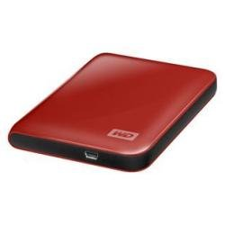 WD My Passport Essential 500 GB Real Red Portable Hard Drive (USB 3.0/2.0) by Western Digital