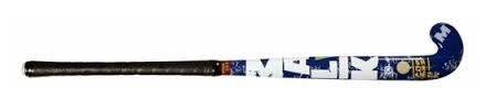 Malik Square2 Junior Wood Hockeyschläger für Kinder (rot/dunkelblau) -28