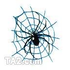 ハロウィーンタトゥーシール クモの巣