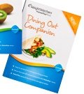 Weight Watchers 2012 Dining Out Companion Brand New Points Plus (DIning Out Only)