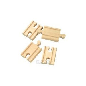 Maxim Wooden 4-piece 2-in Straight Track Adapter Connector Set Fits Thomas Train at Sears.com