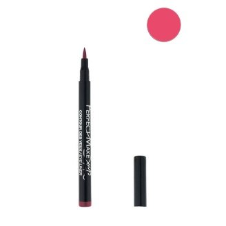 Feutre Semi Permanent Lip Liner - Couleur Petale - Effet Tatouage Contour des Levres Maquillage