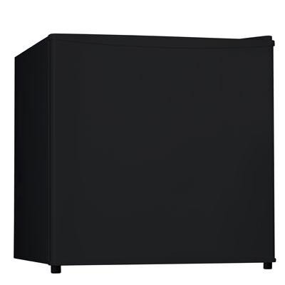 Midea Whs-65L Compact Single Reversible Door Refrigerator With Freezer, 1.7 Cubic Feet, Black