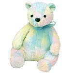 1 X TY Beanie Buddy - MELLOW the Bear