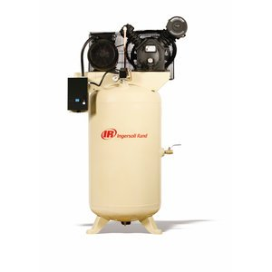 - Ingersoll Rand Type-30 Reciprocating Air Compressor - 7.5 Hp, 230 Volt 3 Phase, Model# 2475N7.5-V