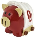 NCAA Oklahoma Sooners Resin Thematic Piggy Bank, Small