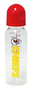 Kansas City Chiefs 9 Ounce Baby Bottle