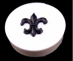 Classikool Silicone Fleur De Lis Icing Cake & Cupcake Topper Mould