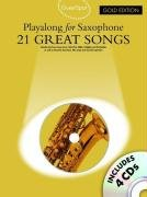 Guest Spot 21 Great Songs Gold Édition Sax 4 CD (Book & CD)