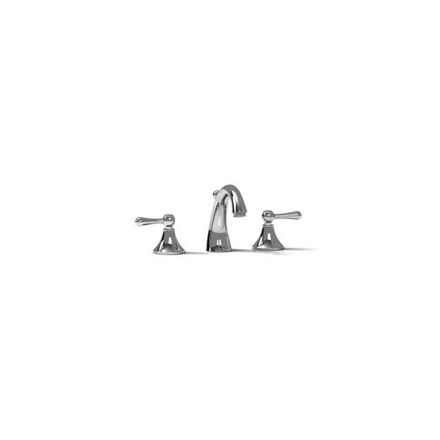 Riobel FI08L C Polished Chrome Fidji Two Handle Widespread Bathroom Faucet