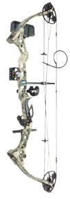 Bowtech Diamond Razor's Edge Mossy Oak Treestand Camo Compound Bow 29 - lb.