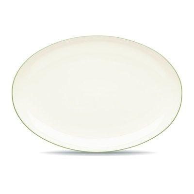 Noritake Colorwave Oval Platter, 16-Inch, Apple Green
