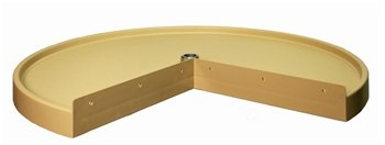 Rev-A-Shelf Replacement shelf - Pie-Cut,Almond,28''
