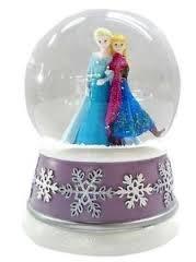 "Disney Frozen Musical Waterglobe Snow Globe – Plays ""Let it Go"""