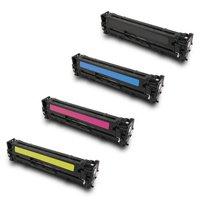 HP Color Laserjet CP1525 / CM1415 Lot Complet de Toners Compatibles de première qualité