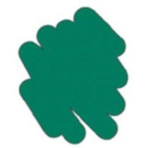 Puffy Velvet Fabric Marker - Green
