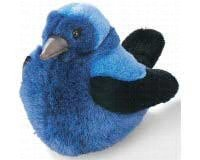 Purple Martin - Audubon Plush Bird (Authentic Bird Sound) - 1