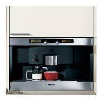 Miele : CVA2660BL 24 Nespresso Coffee System with Large Capacity Container & Patented Brewing Unit