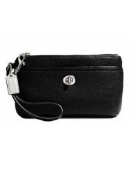 Coach Park Leather Medium Wristlet F4…