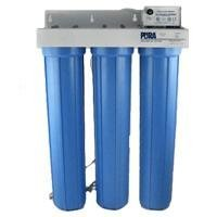 Pura Triple Housing Whole-House System with Sediment Filtration, 8 GPM (5 Micron Sediment Filter Pura compare prices)
