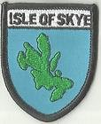 ISLE OF SKYE SCOTLAND CREST FLAG WORLD EMBROIDERED PATCH BADGE