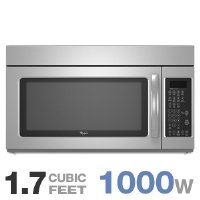 Buy Discount Whirlpool : WMH2175XVS 30 Microwave-Range Hood Combination Stainless Steel