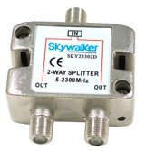 Skywalker 2-way Splitter for Off-air and Satellite signals (SKY23302D)