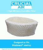 1 Holmes HWF62 Humidifier Filter; Fits Holmes Models HM1701, HM1761, HM1300 & HM1100; Compare to Part # HWF62, HWF62D, HWF-62; Designed & Engineered by Crucial Air - 1
