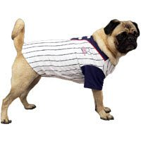 All-American Baseball Dog Jersey Dog Apparel Size-See Chart Below: Large: 20