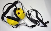 Heavy Duty Yellow Aviation Noise Cancelling Headset