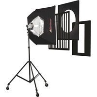 Photoflex Starlite Medium Kit, 1000 watt Starlite, Medium Silverdome, Lightstand
