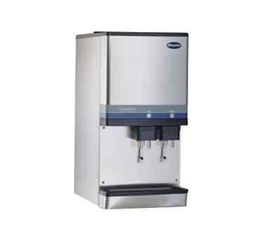 Produces up to 400 lbs. of compressed nugget ice per day Space-saving ...