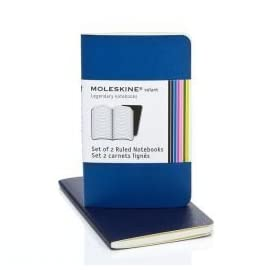 Moleskine Volant Notebook Ruled Extra Small (Set of 2)
