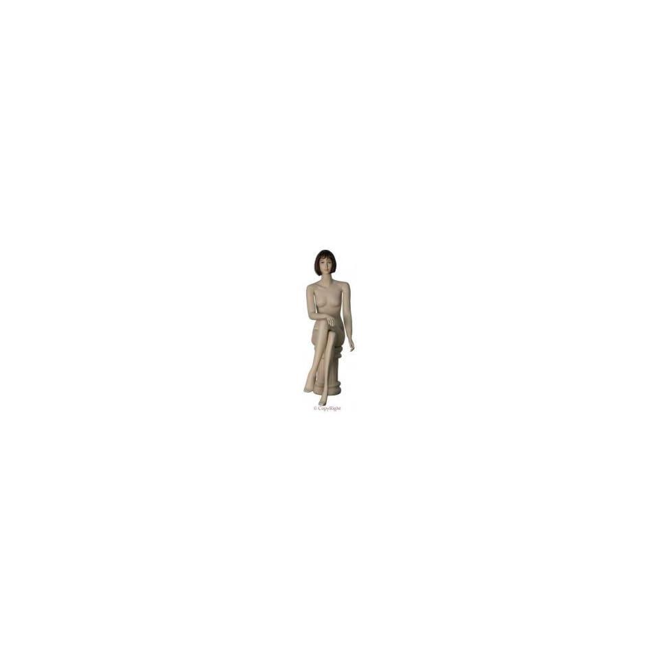Realistic Sitting Female Mannequin ATT5
