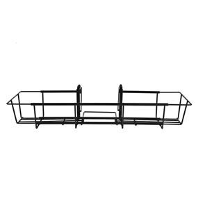 Expandable from 24 to 36 inches wide for various sizes of flower boxes.