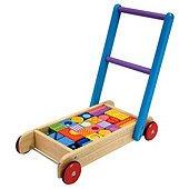 I'M Toy Pattern Block Walker, wooden toy