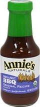 Annies Natural BBQ Sauce, Original Recipe, Organic, 12 Oz.