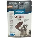 WildCatch for Pets 0.35-Inch by 5.25-Inch Salmon Sticks for Dogs, 4-Ounce