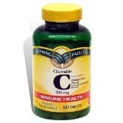 Spring Valley Chewable Vitamin C 60 Chewables