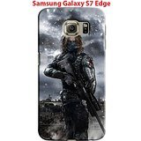 Captain America: Civil War & Characters for Samsung Galaxy S7 Edge Hard Case Cover (war26)