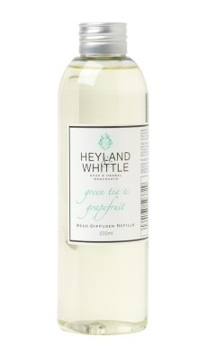Heyland Whittle Green Tea Grapefruit 200ml Diffuser Refill from Heyland & Whitlle