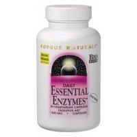 (降价)Essential Enzymes by Source Naturals综合消化酶纯植物配方120粒胶囊SS $17