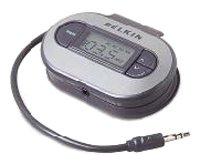 Belkin TuneCast II - Transmisor de FM (Interruptor de encendido/apagado integrado, 2 x AAA, 3.5 mm), gris