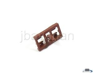 4 X BMW Genuine Door Seal Clip (Brown) for X5 3.0i X5 4.4i X5 4.6is X5 4.8is E53 (X5 Door Seal compare prices)