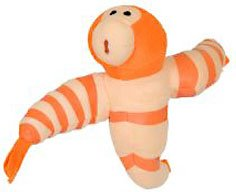 Shrimpanzee Plush Cloudy with a Chance of Meatballs 2 Foodimal by Kelly Toy