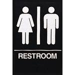 Restroom Sign Ada 6x9