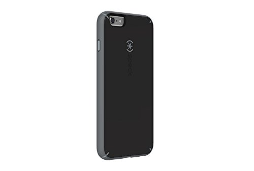 Speck Products Mighty Shell Plus FACEPLATE Case for iPhone 6 Plus  - Retail Packaging - Black/Gravel Grey/Slate Grey
