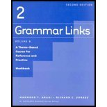 img - for Grammar Links 2: Split Workbook B book / textbook / text book