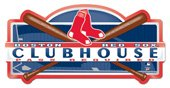 Boston Red Sox Club House Sign